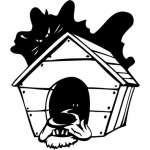 Funny Dog Sticker 14