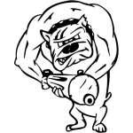 Funny Dog Sticker 32