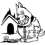 Funny Dog Sticker 39