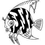 Funny Water  Animal Sticker 38