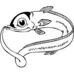 Funny Water  Animal Sticker 46