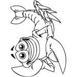 Funny Water  Animal Sticker 90
