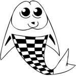 Funny Water  Animal Sticker 133