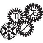 Gear Sticker 70