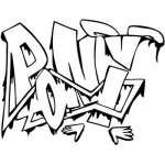 Graffiti Art Sticker 11