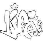 Graffiti Art Sticker 33