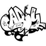 Graffiti Art Sticker 37