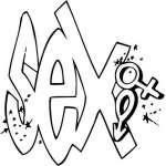 Graffiti Art Sticker 59