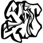 Graffiti Art Sticker 404