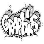 Graffiti Art Sticker 419