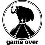 Bear Game Over Sticker 2