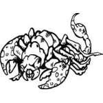 Scorpion Sticker 22