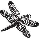 Dragonfly Sticker 72