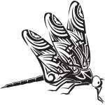 Dragonfly Sticker 84