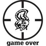 Game Over Squirrel Sticker 3