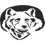 Wolf Head Sticker 3