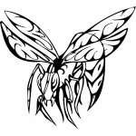 Predatory Insect Sticker 12
