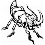 Predatory Insect Sticker 17