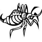 Predatory Insect Sticker 22