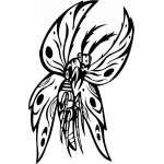 Predatory Insect Sticker 32