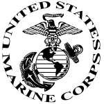 USMC 7 Sticker