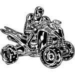 ATV Riders Sticker 60