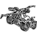 ATV Riders Sticker 78