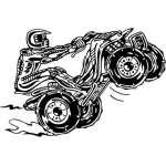 ATV Riders Sticker 85