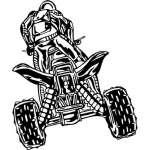 ATV Riders Sticker 86