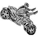 ATV Riders Sticker 95