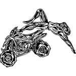 ATV Riders Sticker 96