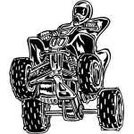 ATV Riders Sticker 14