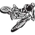 Dirt Bike Sticker 217