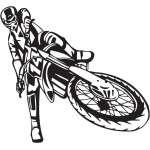 Dirt Bike Sticker 240