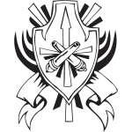 Military Emblem Sticker 3