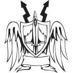 Military Emblem Sticker 5