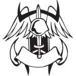 Military Emblem Sticker 8