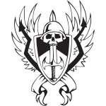 Military Emblem Sticker 10