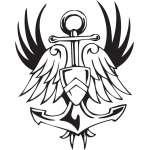 Military Emblem Sticker 12