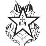 Military Emblem Sticker 28