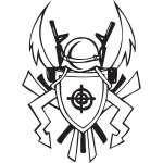 Military Emblem Sticker 41