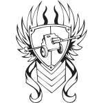 Military Emblem Sticker 43