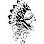 Native American Sticker 29