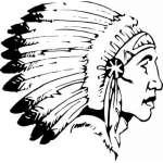 Native American Sticker 32