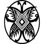 Native American Art Sticker 11