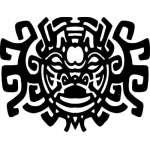 Native American Art Sticker 17