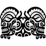 Native American Art Sticker 18