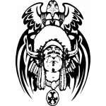 Native American Sticker 38
