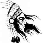 Native American Sticker 6