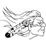 Native American Sticker 10